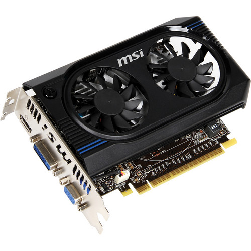 MSI GT 640 2048MB DDR3 Graphics Card (941 MHz Core Clock Speed)
