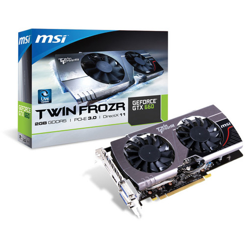 MSI GeForce GTX TF 660 Graphics Card