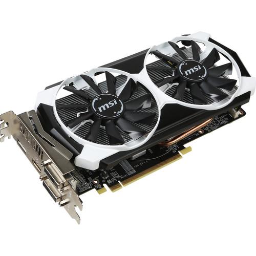 MSI Radeon R7 370 Overclocked Graphics Card