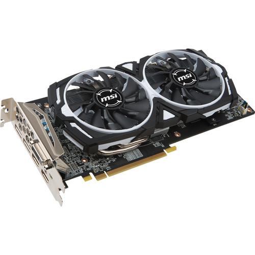 MSI Radeon RX 480 ARMOR 8G OC Graphics Card