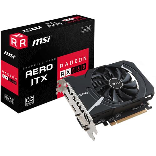 MSI Radeon RX 560 AERO ITX 4G OC Graphics Card