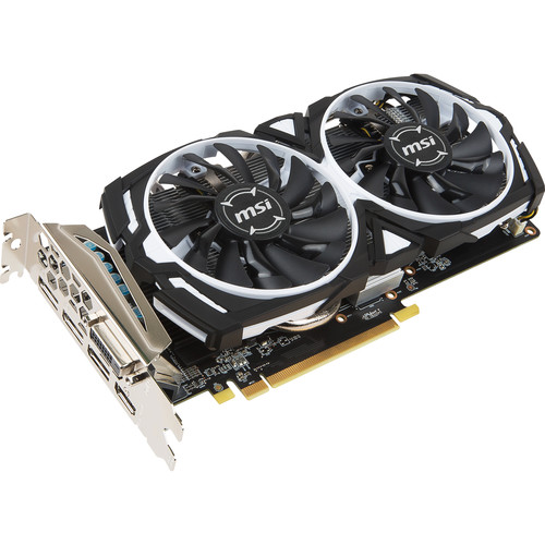 MSI Radeon RX 470 ARMOR 8G OC Graphics Card