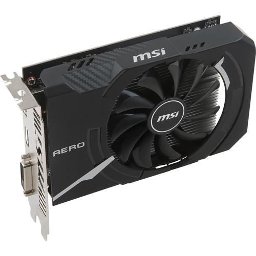 MSI Radeon RX 550 AERO ITX 4G OC Graphics Card