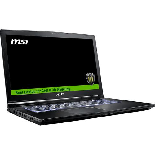"MSI 17.3"" WE72 7RJ Mobile Workstation"