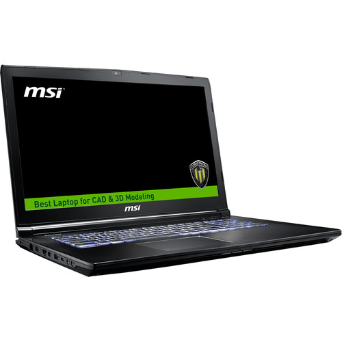 "MSI 17.3"" WE72 7RJ Mobile Workstation"