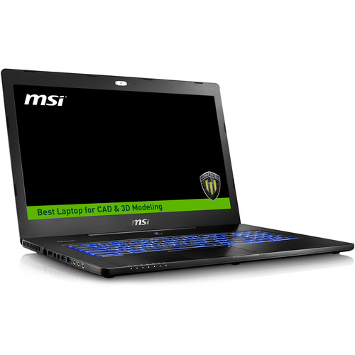 "MSI 17.3"" WS72 Mobile Workstation"