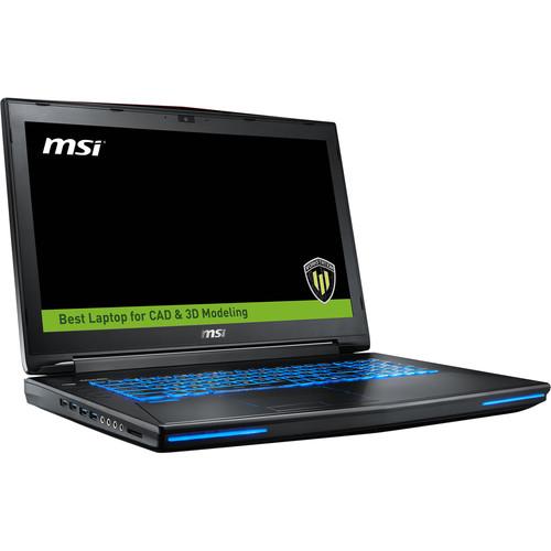 "MSI 17.3"" WT72 Mobile Workstation"
