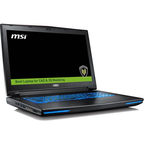 """MSI WT72 6QN-245US/i7-6820HK/16GB/1TB + 256SSD/M5500/Windows 10 Pro/17.3"""""""