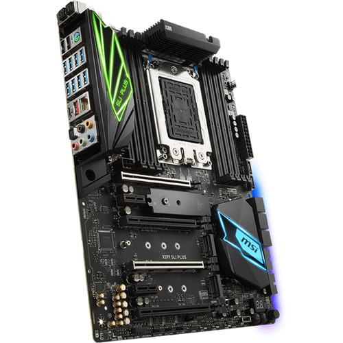 MSI X399 SLI Plus TR4 ATX Motherboard