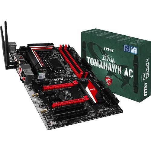 MSI Z170A Tomahawk AC LGA 1151 ATX Motherboard