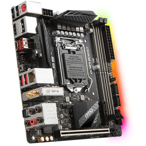 MSI Z370I Gaming Pro Carbon AC LGA 1151 Mini-ITX Motherboard