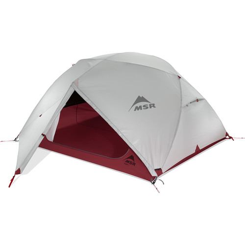 MSR Elixir 3-Person Backpacking Tent with Pad Kit