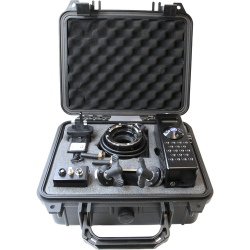 MTF Services Ltd EFFECT Control Unit Kit 3 with AJA Cion Camera Mount & 4-Pin to D-Tap Cable