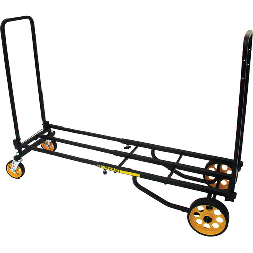 "MultiCart R8RT Mid 8-in1 Hand Truck & Low-Profile All-Terrain 5"" Braking Casters Kit"