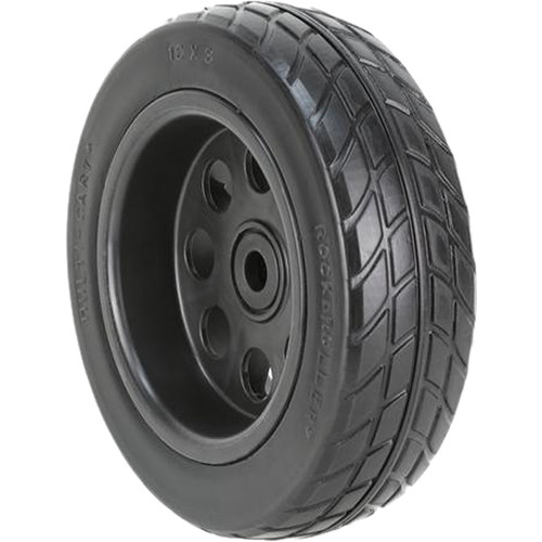 "MultiCart 10x3"" R-Trac Wheel for R10 and R12 (2 Pack, Black Hub)"