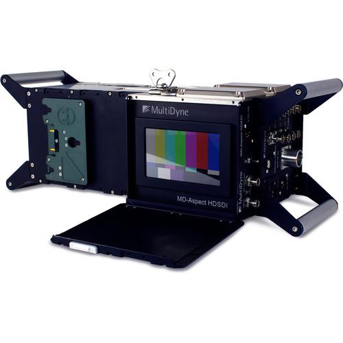 MultiDyne Bulldog Camera Unit / Neutrik Opticalcon Duo, Anton Bauer Battery Plate