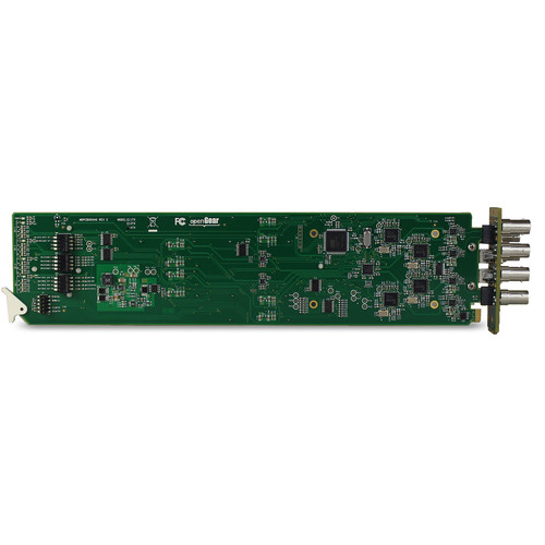 MultiDyne Two-Channel 3G-SDI Video CWDM openGear Receiver Card (1551 to 1571nm)