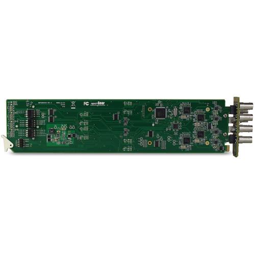 MultiDyne Four-Channel 3G-SDI Receiver Card for OG3-FR-x openGear Frame (1471 to 1531nm)