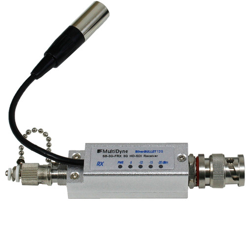 MultiDyne Silverbullet 12G-SDI Video Fiber Optic Receiver