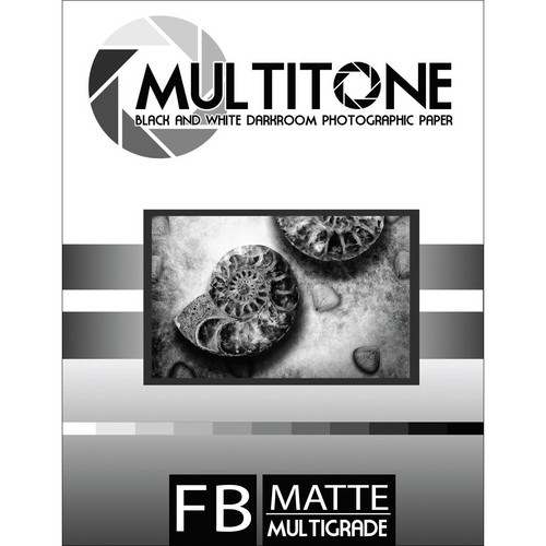 "MultiTone Matte MultiFiber Variable Contrast Paper (5x7"", 100-Pack)"