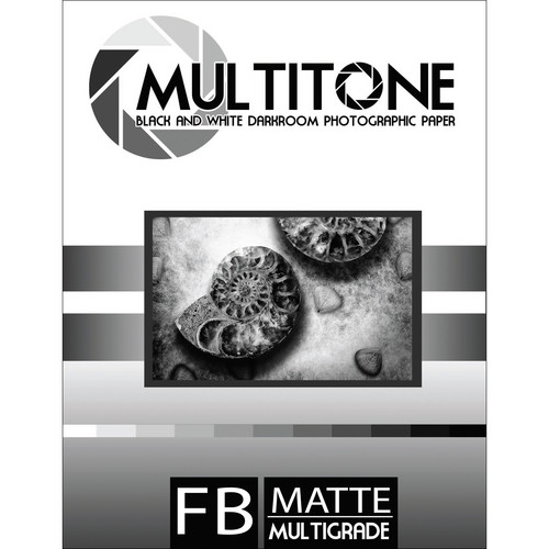 "MultiTone Matte MultiFiber Variable Contrast Paper (8x10"", 100-Pack)"