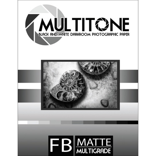 "MultiTone Matte MultiFiber Variable Contrast Paper (8x10"", 25-Pack)"