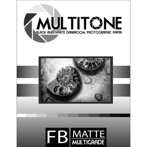 "MultiTone Matte MultiFiber Variable Contrast Paper (11x14"", 10-Pack)"
