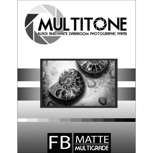 "MultiTone Matte MultiFiber Variable Contrast Paper (11x14"", 50-Pack)"