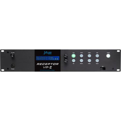 Muse Research Receptor VIP2 Virtual Instrument Player (2RU)