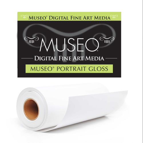 """Museo Portrait Photo Paper (Gloss, 44"""" x 50' Roll)"""