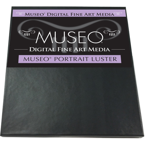"""Museo Portrait Photo Paper (Luster, 17 x 22"""", 25 Sheets)"""