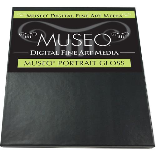 "Museo Portrait Photo Paper (Gloss, 8.5 x 11"", 25 Sheets)"