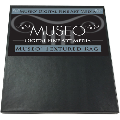 "Museo Textured Rag Fine Art Inkjet Paper (8.5 x 11"", 25 Sheets)"