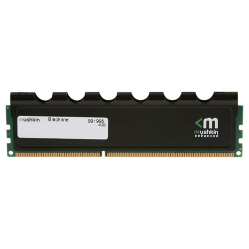 Mushkin Blackline 4GB DDR3 1600 MHz (PC3-12800) UDIMM Memory Module