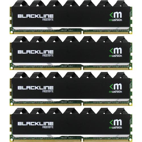 Mushkin Blackline 32GB (4 x 8GB) DDR3 2133 MHz (PC3-17000) UDIMM Memory Kit