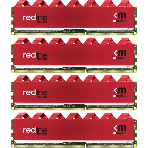 Mushkin 32GB Redline DDR4 3000 MHz UDIMM Memory Kit (4 x 8GB)