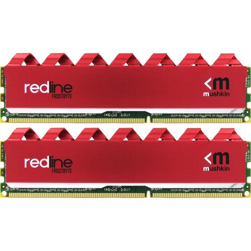 Mushkin 16GB Redline DDR4 3000 MHz UDIMM Memory Kit (2 x 8GB)