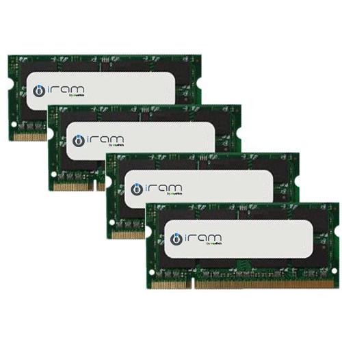 Mushkin 32GB iRAM DDR3L 1600 MHz SO-DIMM Memory Kit (4 x 8GB, Mac)