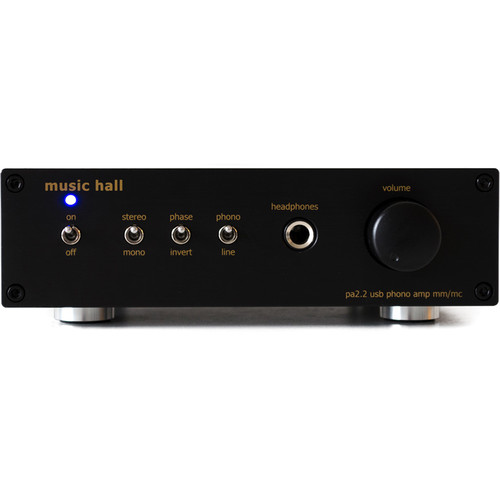 Music Hall MM/MC Phono Preamp, Headphone Amp, and A2D Converter