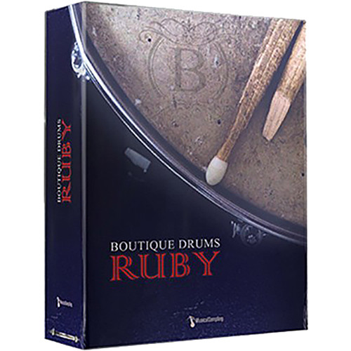 Musical Sampling Boutique Drums Ruby Sample Library (Download)