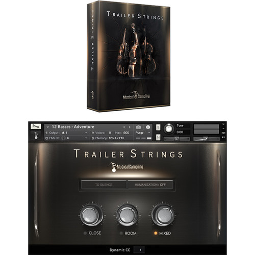 Musical Sampling Trailer Strings - Instrument Library (Download)