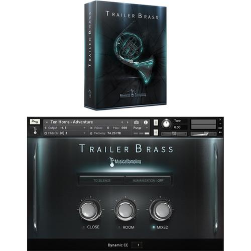 Musical Sampling Trailer Brass - Instrument Library (Download)