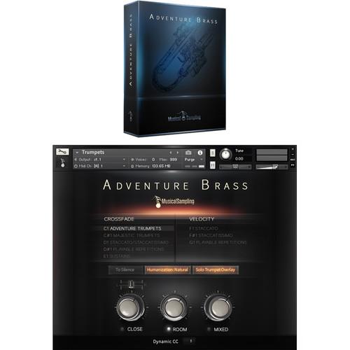 Musical Sampling Adventure Brass - Instrument Library (Download)