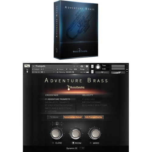 Musical Sampling Adventure Brass - Instrument Library (Download)