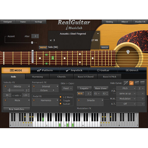 MusicLab RealGuitar v3 - Acoustic Guitar Virtual Instrument