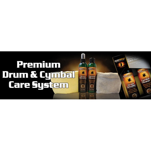 MUSICNOMAD Premium Drum & Cymbal Care System