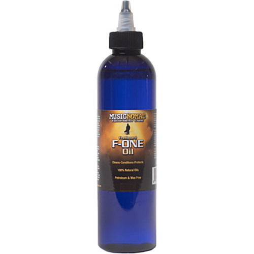 MusicNomad F-ONE Fretboard Oil, Cleaner & Conditioner (8 oz)