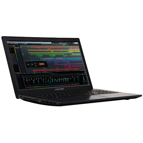 MusicXPC M20x Music Production Laptop