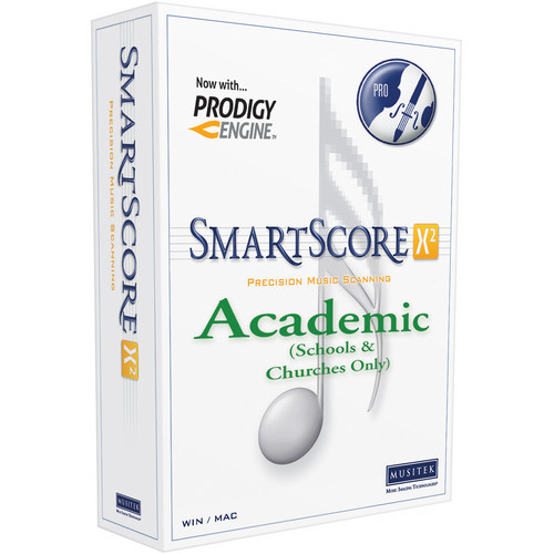 Musitek SmartScore X2 Academic Edition License (3-Pack)