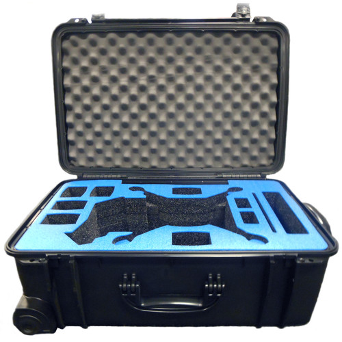 Mustang Hard Case with Wheels for DJI Phantom 4 Quadcopter